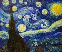 Starry Night - Paint with Chelsea