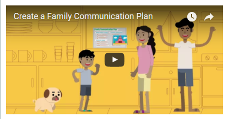 Create a Family Communication Plan