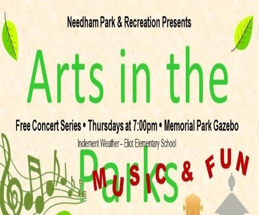 arts in the parks marketing