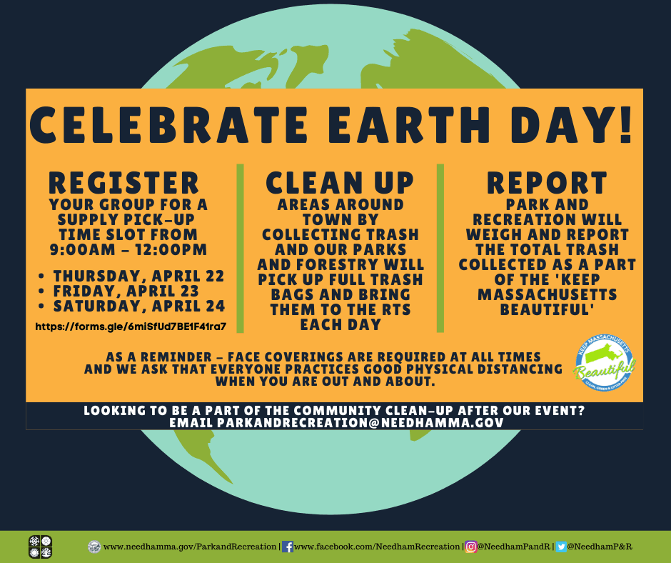 Celebrate Earth Day - Town Wide Clean Up 2021